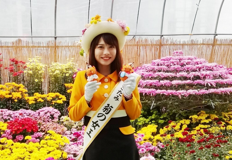 きたみ菊の女王とKITAMI SUN(北見さん).jpg